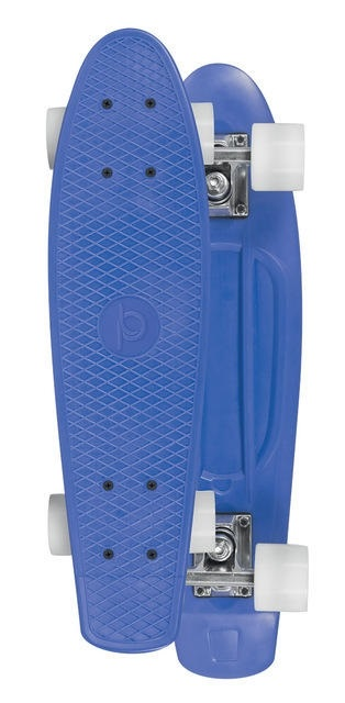 Skateboard Playlife Vinyl Board - Blue