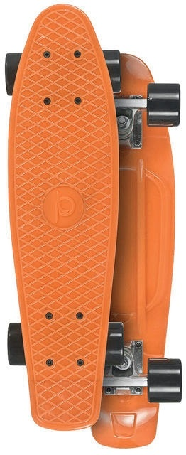 Skateboard Playlife Vinyl Board - Orange
