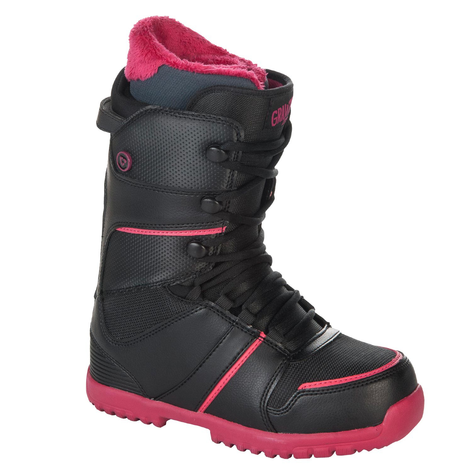Gravity SAGE black/pink vel. 6